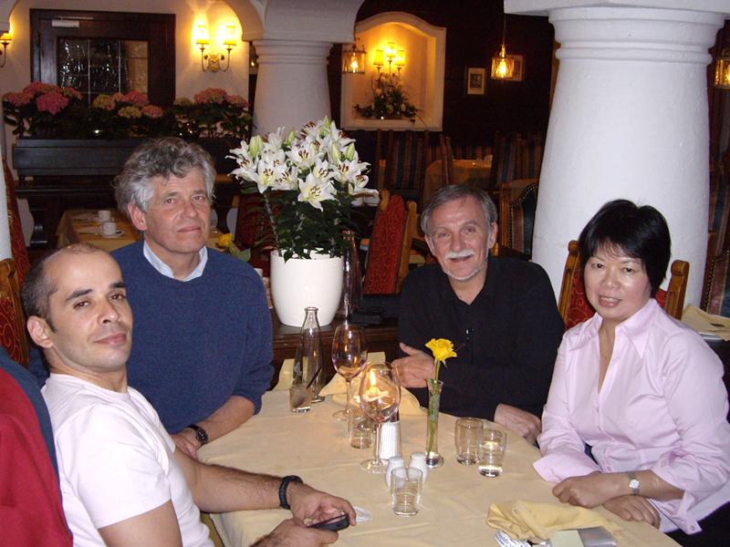 Većera konstelatora Maho Kinesio Brazil, Jan Jstam Nizozemska, Vedran Kraljeta Hrvatska, Rebecca Szettohong kong Pichl