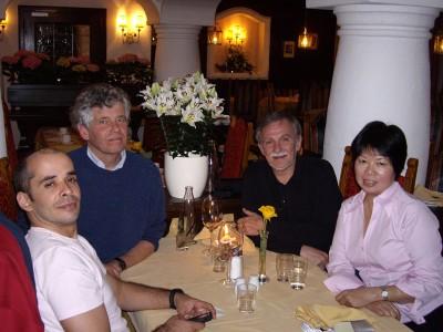 Većera konstelatora Maho Kinesio Brazil, Jan Jstam Nizozemska, Vedran Kraljeta Krvatska, Rebecca Szettohong Kong Pichl 2008